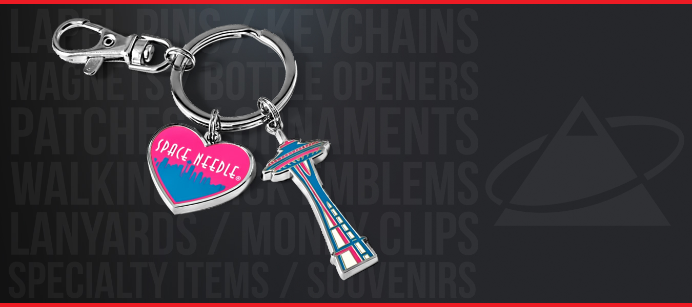 As the leading supplier of quality custom made keychains, we offer a variety of deluxe finishes, movable options, and special processes.
